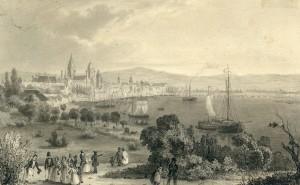 Mainz am Rhein ⋅ um 1860 Image