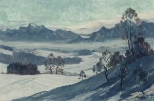Winter am Chiemsee ⋅ 1970 Image