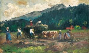 Heuernte ⋅ um 1910 Image