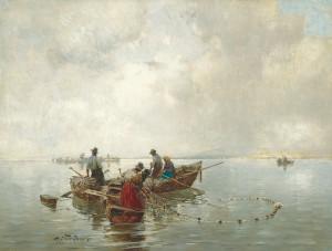 Chiemseefischer ⋅ 1899 Image