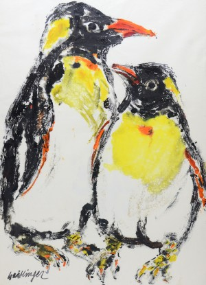 Pinguine ⋅ um 1980 Image