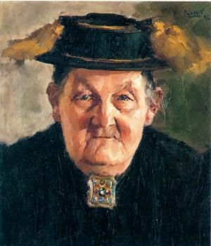 Pumperer Mutter aus Loiberting bei Gstadt ⋅ 1946 Image