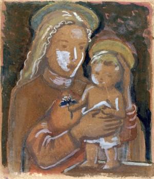 Maria mit Kind Image