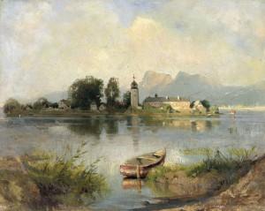 Chiemsee ⋅ um 1875 Image