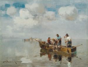 Chiemseefischer ⋅ um 1900 Image