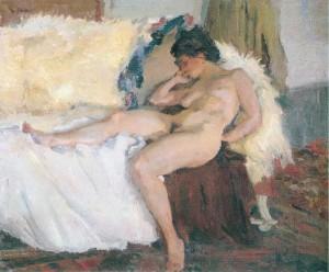Liegender Akt ⋅ 1910 Image