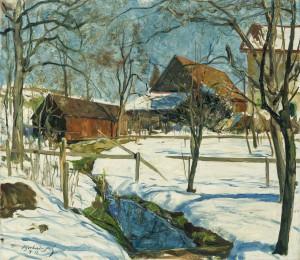 Winterlandschaft am Samerberg ⋅ 1935 Image