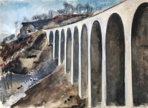 Drachenlochbrücke am Drackensteiner Hang ⋅ 1938 Image