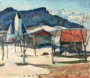 Schneeschmelze (Steinkirchen am Samerberg) Image