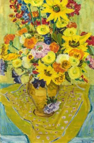 Sommerblumenstrauß ⋅ 1953 Image