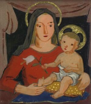Madonna mit Kind Image