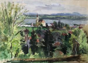 Starnberg von oben Image