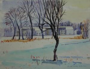 Wintersonne in Osternach ⋅ 2004 Image