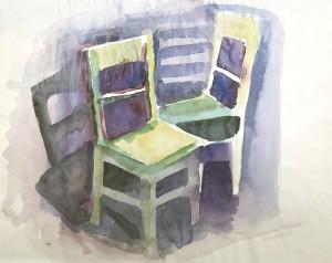 Zwei Stühle ⋅ um 2006 Image
