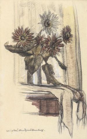 Sträußchen am Fenster Image