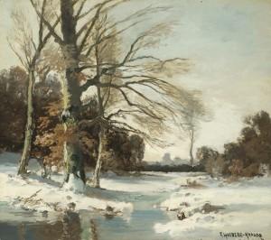 Winter ⋅ um 1925 Image