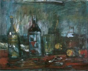 Flaschenstillleben ⋅ 1965/70 Image