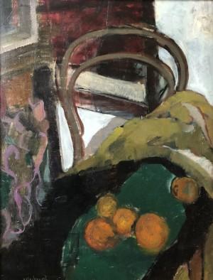 Thonetstuhl mit Orangen ⋅ 1960 Image