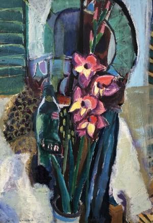 Stillleben mit Gladiolen ⋅ 1998 Image