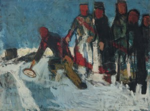 Eisstockschützen ⋅ 1954 Image
