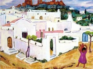 Griechisches Städtchen ⋅ um 1960 Image