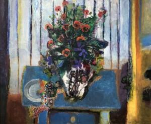 Interieur mit Feldblumen ⋅ 2001 Image