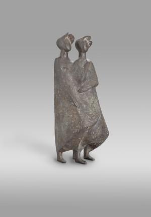 Zwei Frauen im Wind ⋅ 1969 Image