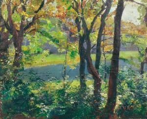Langbürgner See ⋅ 1910 Image