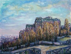 Paris - Sacré-Coeur am Montmarte ⋅ um 1950 Image