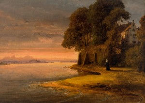 Nonne am Ufer der Fraueninsel ⋅ 1842 Image