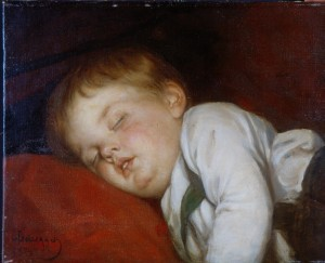 Robert, schlafend ⋅ 1878 Image