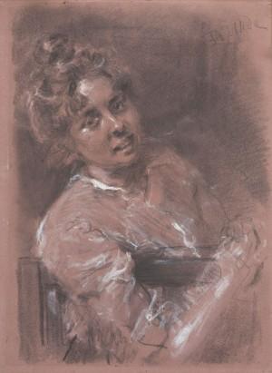 Bildnisstudie ⋅ 1889 Image
