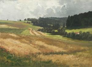 Sommer bei Wilzhofen am Starnbergersee ⋅ 1910 Image