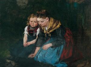 Mutter und Kind ⋅ um 1895 Image