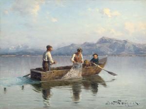 Chiemseefischer ⋅ um 1890 Image