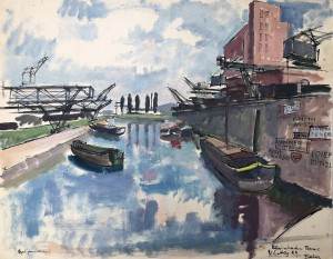 Rheinhafen Basel ⋅ 1929 Image