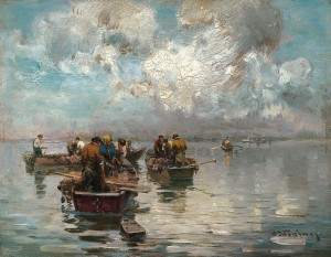 Chiemseefischer ⋅ um 1910 Image