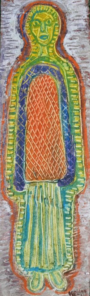 Gestalt mit langem Gewand ⋅ um 1965 Image