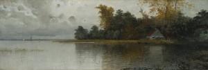 Uferpartie ⋅ um 1895 Image