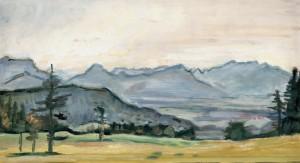 Blick übers Inntal ⋅ um 1940 Image