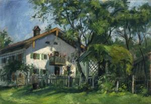 Bauernhof am Chiemsee ⋅ 1921 Image