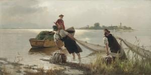 Chiemseefischer ⋅ um 1880 Image