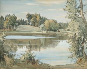 Stettner See ⋅ um 1920 Image