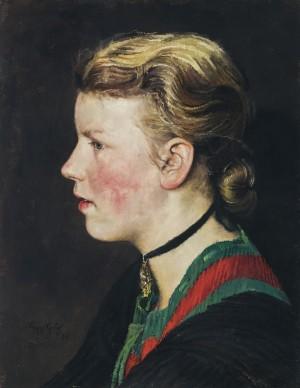 Junges Mädchen aus Bad Aibling ⋅ 1938 Image