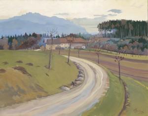 Bauernhof an der Kampenwand ⋅ um 1925 Image