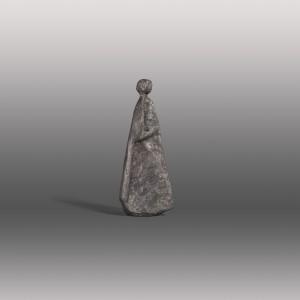 Frau in langem Gewand ⋅ 1993 Image