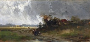 Nach dem Regen ⋅ um 1885  Image