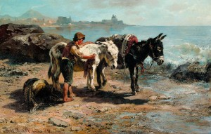 Esel am Strande ⋅ 1898 Image
