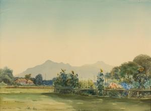 Bauerngarten in Feldwies ⋅ 1935 Image