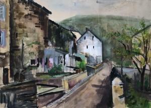 Esch an der Sauer (Luxemburg) ⋅ 1943 Image